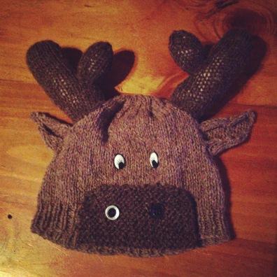 Moose Beanie Pattern