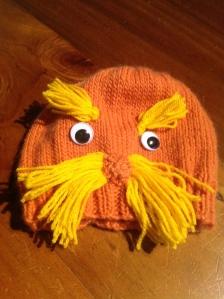 Lorax Hat Knitting Pattern