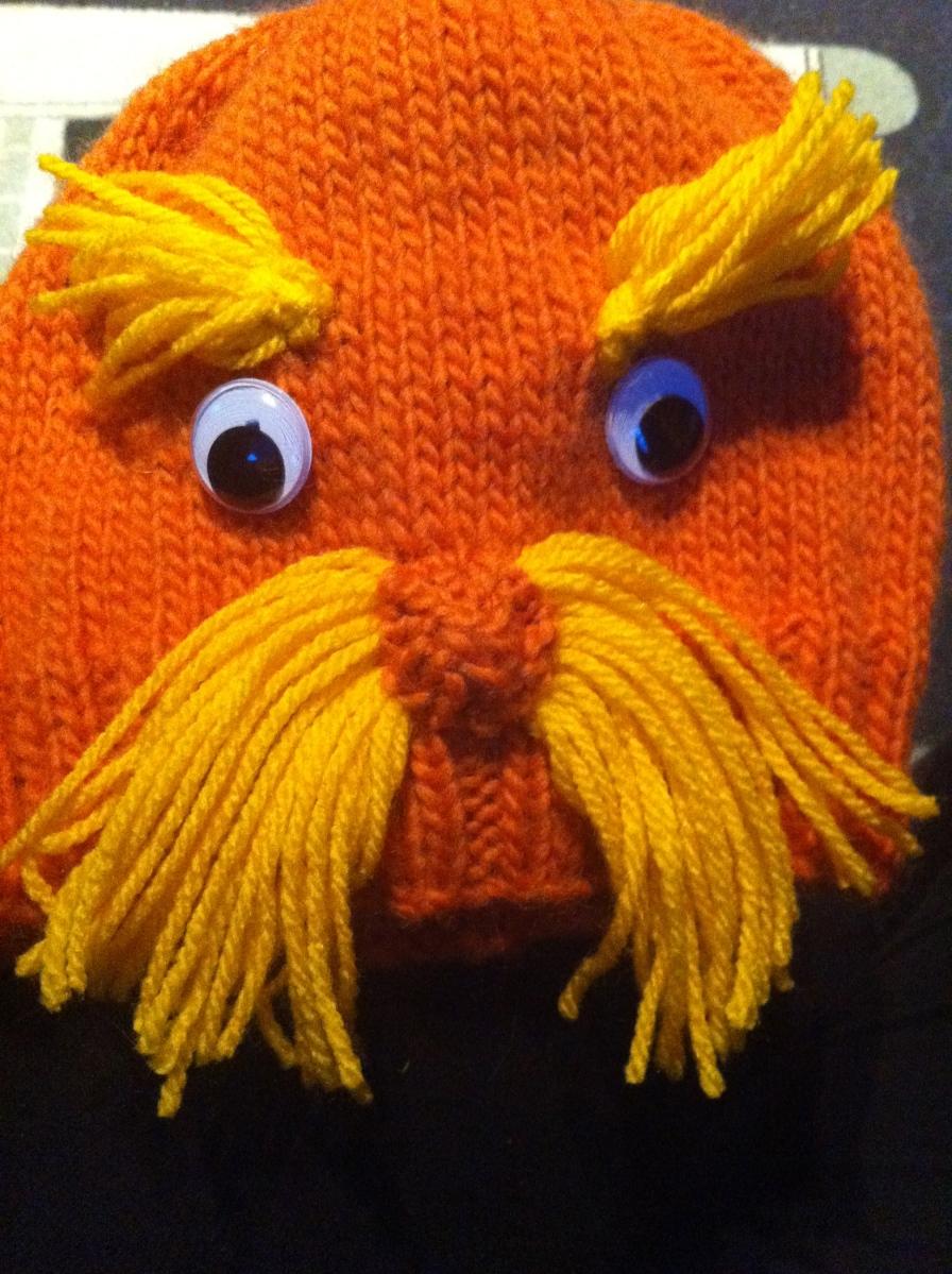Lorax Hat Knitting Pattern Living With The Knit Guru