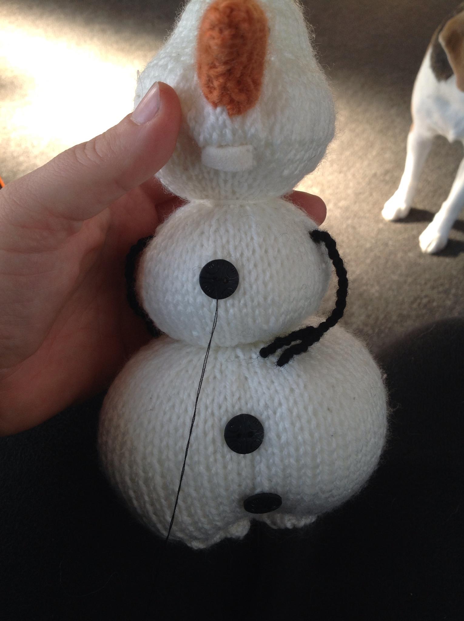 Olaf from ?Frozen?   Knitting Pattern The Knit Guru